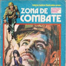 Cómics: ZONA DE COMBATE Nº 78. RELATOS BELICOS ILUSTRADOS URSUS 1973. Lote 74604991
