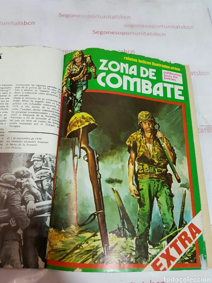 Cómics: LOTE - ZONA DE COMBATE EXTRA - 5 TOMOS - N°1 AL 39 - ED. URSUS - 1979 - Foto 2 - 75399493