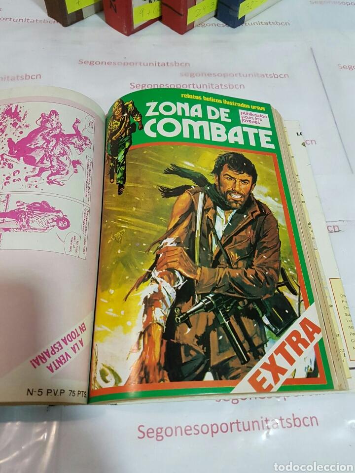 Cómics: LOTE - ZONA DE COMBATE EXTRA - 5 TOMOS - N°1 AL 39 - ED. URSUS - 1979 - Foto 3 - 75399493