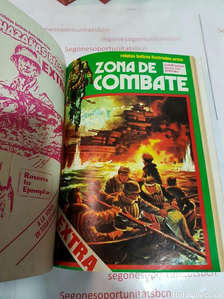 Cómics: LOTE - ZONA DE COMBATE EXTRA - 5 TOMOS - N°1 AL 39 - ED. URSUS - 1979 - Foto 4 - 75399493