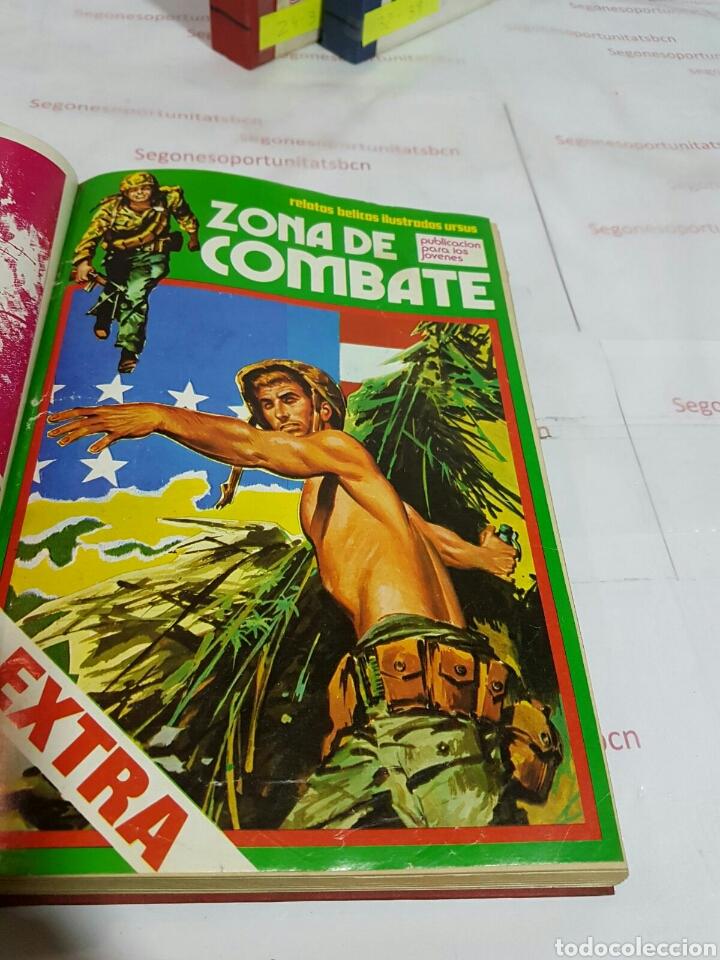 Cómics: LOTE - ZONA DE COMBATE EXTRA - 5 TOMOS - N°1 AL 39 - ED. URSUS - 1979 - Foto 5 - 75399493