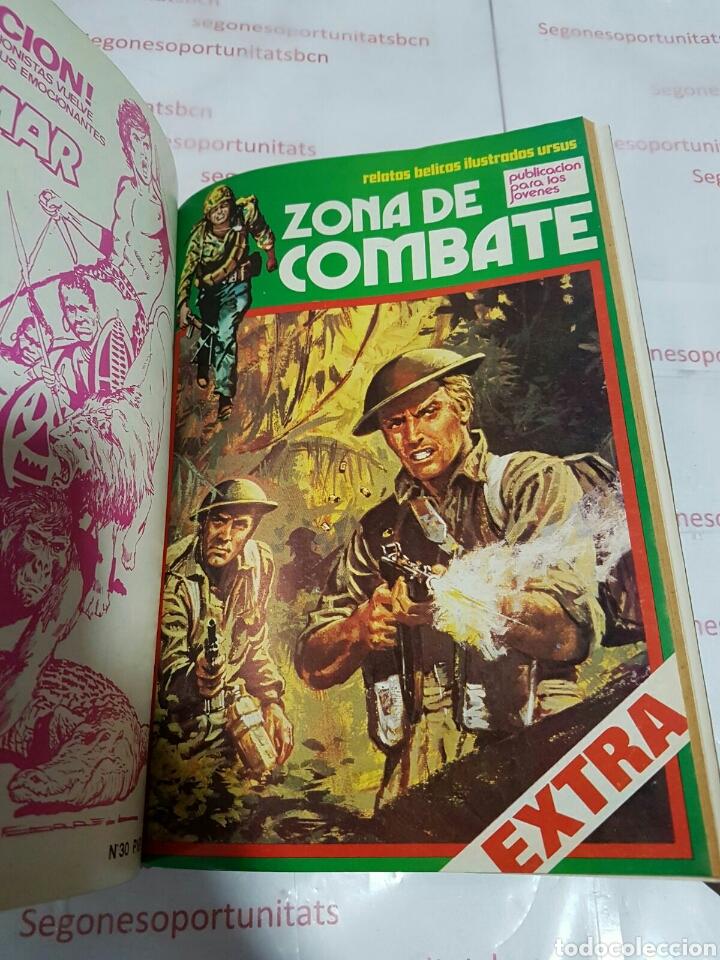 Cómics: LOTE - ZONA DE COMBATE EXTRA - 5 TOMOS - N°1 AL 39 - ED. URSUS - 1979 - Foto 6 - 75399493