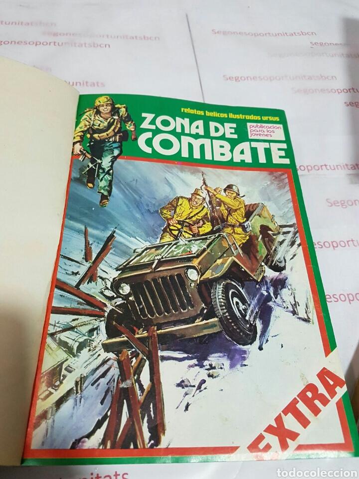 Cómics: LOTE - ZONA DE COMBATE EXTRA - 5 TOMOS - N°1 AL 39 - ED. URSUS - 1979 - Foto 9 - 75399493