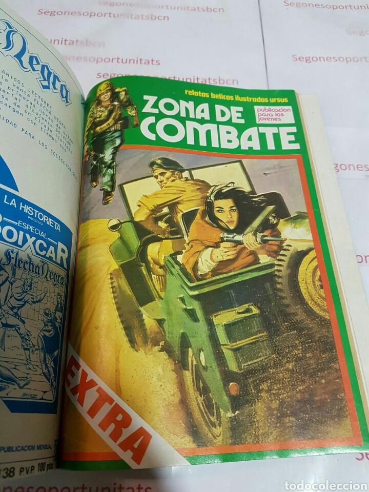 Cómics: LOTE - ZONA DE COMBATE EXTRA - 5 TOMOS - N°1 AL 39 - ED. URSUS - 1979 - Foto 10 - 75399493