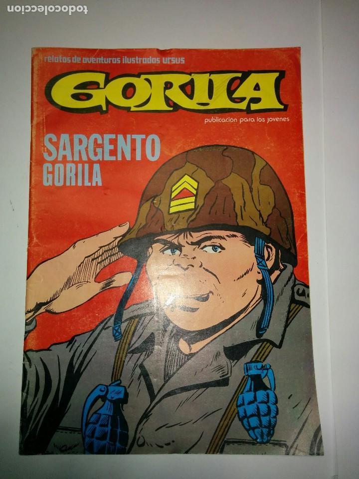 GORILA Nº 4 SARGENTO GORILA 1980 EDICIONES URSUS (Tebeos y Comics - Ursus)