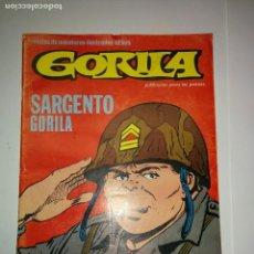 Cómics: GORILA Nº 4 SARGENTO GORILA 1980 EDICIONES URSUS. Lote 84999116