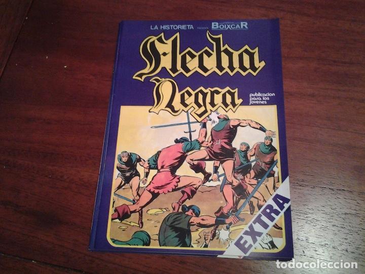 FLECHA NEGRA - REEDICION - COMPLETA 12 NUMEROS - MUY NUEVOS - DIBUJANTE BOIXCAR (Tebeos y Comics - Ursus)