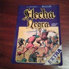 Cómics: FLECHA NEGRA - REEDICION - COMPLETA 12 NUMEROS - MUY NUEVOS - DIBUJANTE BOIXCAR. Lote 92148730