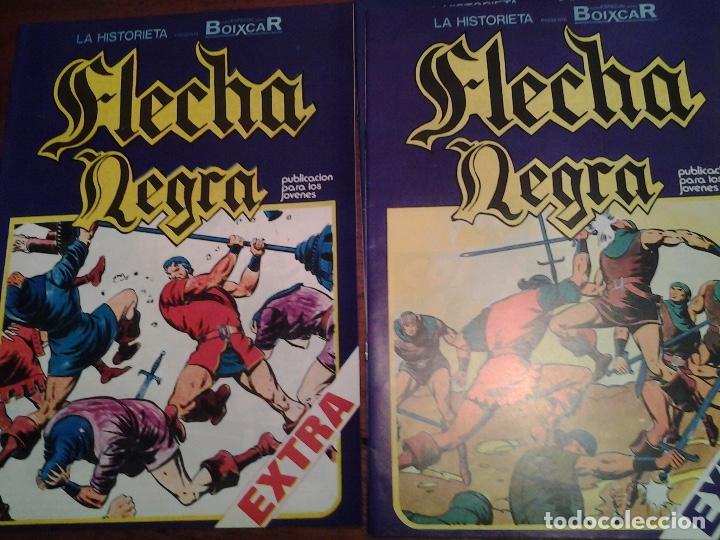Cómics: FLECHA NEGRA - REEDICION - COMPLETA 12 NUMEROS - MUY NUEVOS - DIBUJANTE BOIXCAR - Foto 2 - 92148730