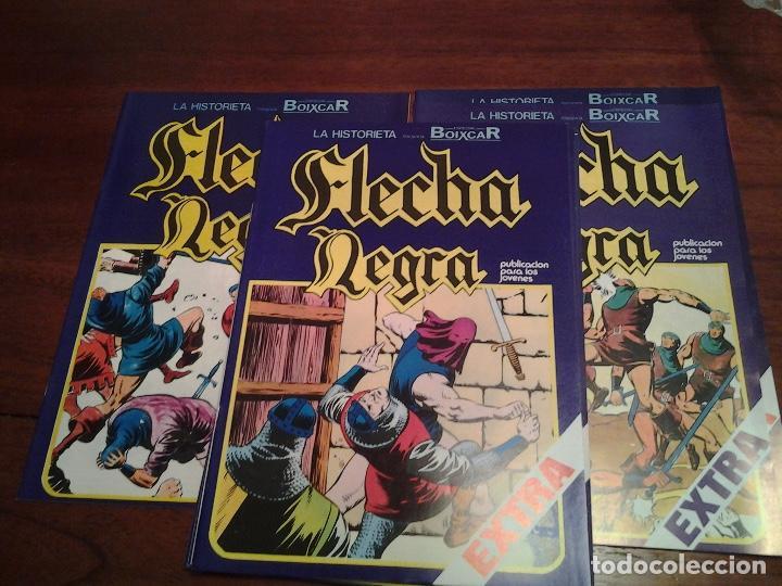 Cómics: FLECHA NEGRA - REEDICION - COMPLETA 12 NUMEROS - MUY NUEVOS - DIBUJANTE BOIXCAR - Foto 3 - 92148730