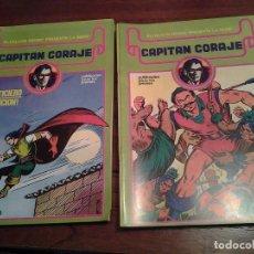 Cómics: CAPITAN CORAJE - REEDICION - COMPLETA 16 NUMEROS - MUY NUEVOS - DIBUJANTE IRANZO. Lote 92149250