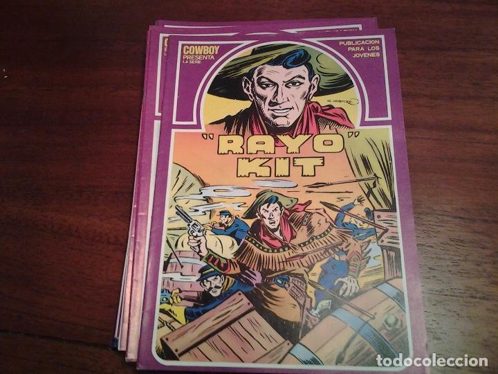 RAYO KIT - REEDICION - COMPLETA 12 NUMEROS - MUY NUEVOS - DIBUJANTE IRANZO (Tebeos y Comics - Ursus)