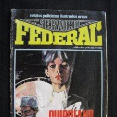 Cómics: SERVICIO FEDERAL - Nº 2 - EDICIONES URSUS.. Lote 95200867