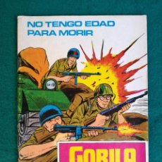 Cómics: GORILA .NÚMERO 2. NO TENGO EDAD PARA MORIR. URSUS . Lote 96077959
