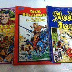 Cómics: RAYO KIT (6)- DICK RELÁMPAGO (4) - FLECHA NEGRA (8) - LOTE DE 18. Lote 97437319
