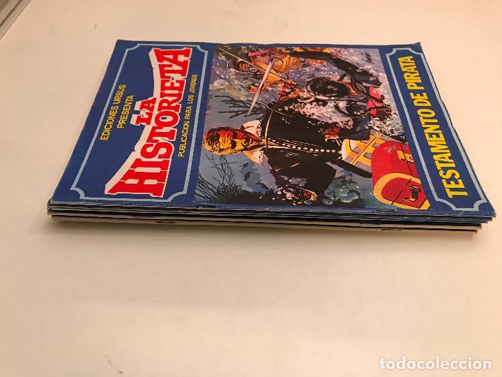 COLECCION COMPLETA DE 6 NUMEROS. LAS HISTORIETA. URSUS. 1980. (Tebeos y Comics - Ursus)