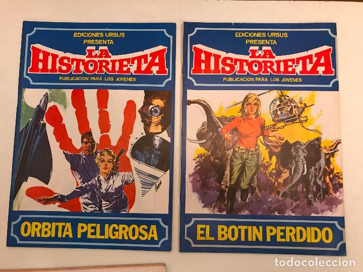 Cómics: COLECCION COMPLETA DE 6 NUMEROS. LAS HISTORIETA. URSUS. 1980. - Foto 3 - 99812971