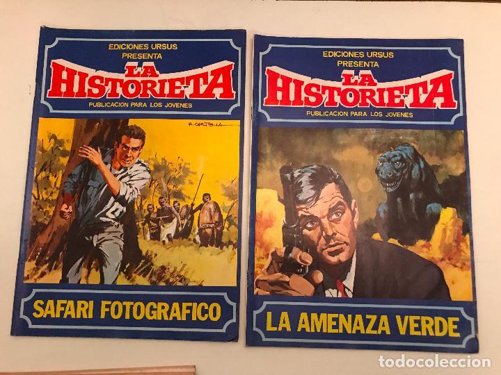 Cómics: COLECCION COMPLETA DE 6 NUMEROS. LAS HISTORIETA. URSUS. 1980. - Foto 4 - 99812971