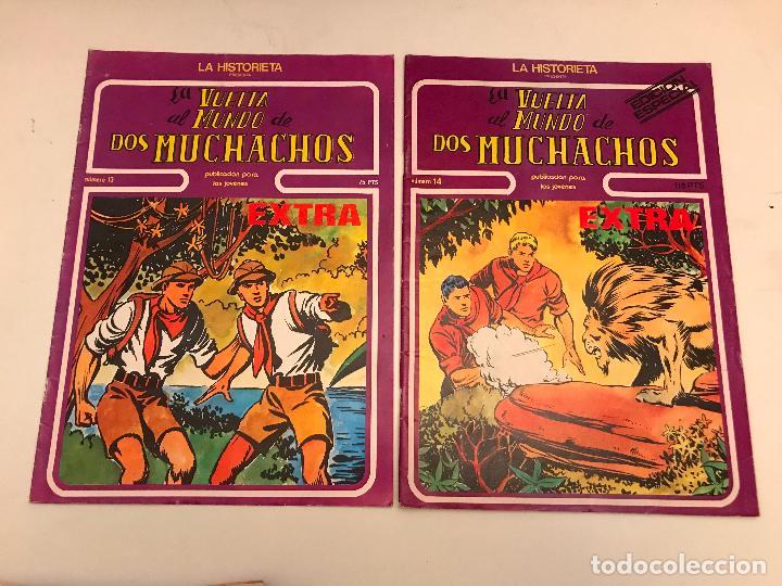 Cómics: COLECCION COMPLETA LA HISTORIETA PRESENTA BOIXCAR 12 NUMEROS. REGALO 3 NUMEROS EXTRAS 1981. URSUS - Foto 8 - 99813247