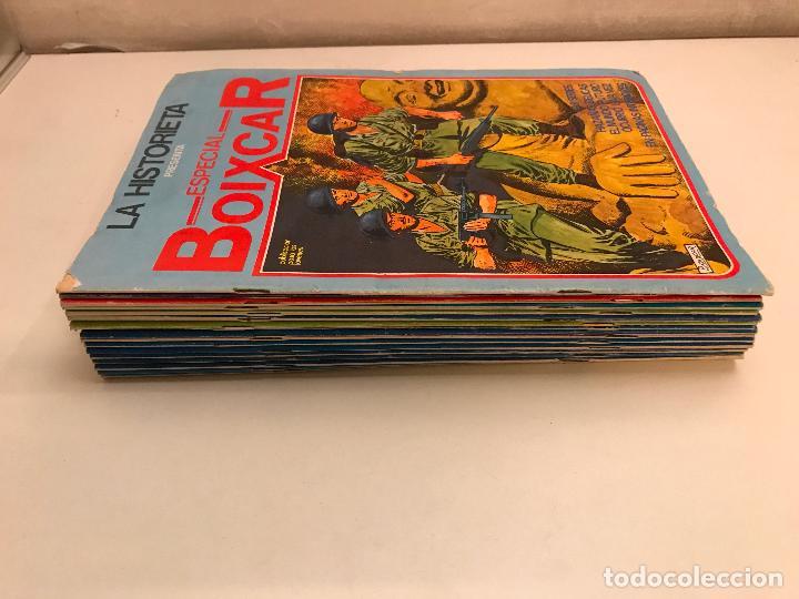 COLECCION COMPLETA DE 17 NUMEROS. LA HISTORIETA PRESENTA ESPECIAL BOIXCAR 1982. URSUS. (Tebeos y Comics - Ursus)