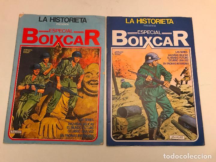 Cómics: COLECCION COMPLETA DE 17 NUMEROS. LA HISTORIETA PRESENTA ESPECIAL BOIXCAR 1982. URSUS. - Foto 2 - 99814463