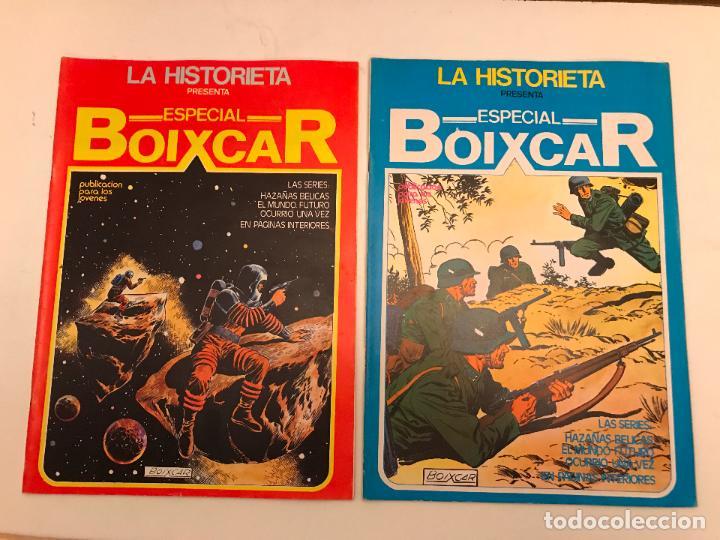 Cómics: COLECCION COMPLETA DE 17 NUMEROS. LA HISTORIETA PRESENTA ESPECIAL BOIXCAR 1982. URSUS. - Foto 3 - 99814463