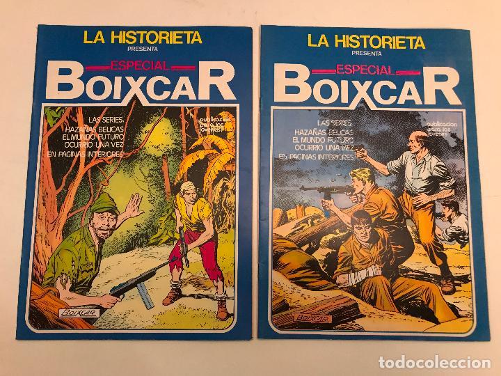 Cómics: COLECCION COMPLETA DE 17 NUMEROS. LA HISTORIETA PRESENTA ESPECIAL BOIXCAR 1982. URSUS. - Foto 6 - 99814463