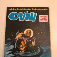 Cómics: OVNI. LIBRO. RELATO DE ANTICIPACION ILUSTRADOS. URSUS. 1974. . Lote 99815903