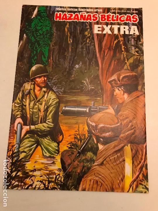 HAZAÑAS BELICAS EXTRA Nº 34 V1. URSUS 1981 (Tebeos y Comics - Ursus)