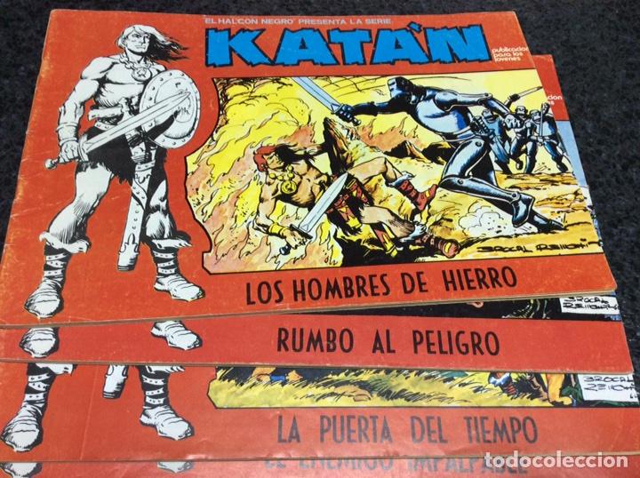 Cómics: KATÁN COLECCION COMPLETA 10 EJEMPLARES , ED. URSUS 1980 - Foto 5 - 49544620