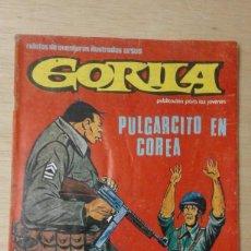 Comics : COMIC GORILA NUM.5 ** PULGARCITO EN COREA ** URSUS 1980. Lote 105362379