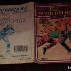Cómics: LA HISTORIETA Nº16 LA VUELTA AL MUNDO DE DOS MUCHACHOS. Lote 106054787