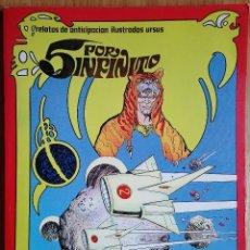Cómics: 5 POR INFINITO - URSUS (TORAY) Nº 1,2,3,4 Y 5 - 1982. - ENVÍO GRATIS. Lote 109147251