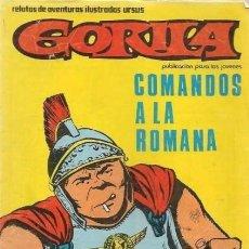 Cómics: GORILA -II ÉPOCA- Nº 3- COMANDOS A LA ROMANA- 1980- RARO- MUY BUENO- ESCASO- GRAN ALAN DOYER- 7693. Lote 109864351