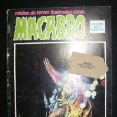 Cómics: MACABRO Nº 8. RELATOS DE TERROR ILUSTRADOS . Lote 115533239