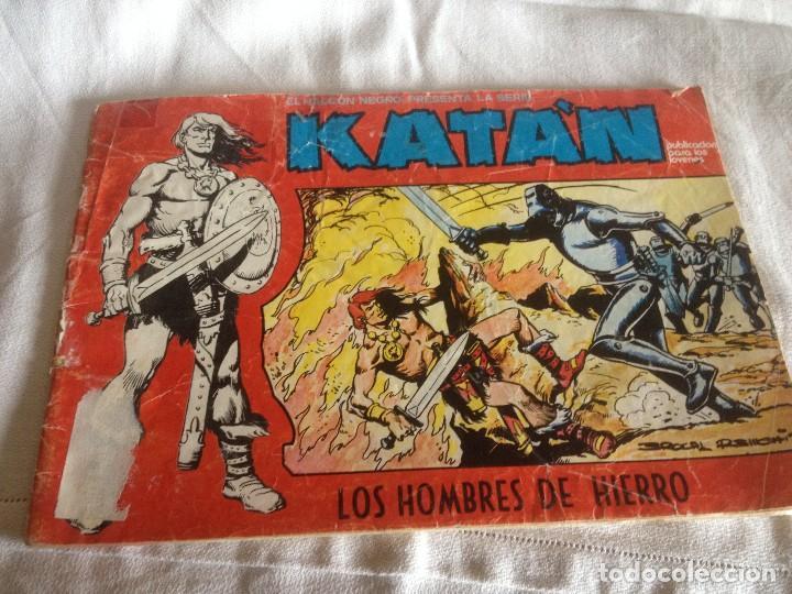 KATÁN. 1 : LOS HOMBRES DE HIERRO.80. 60 PTS (Tebeos y Comics - Ursus)
