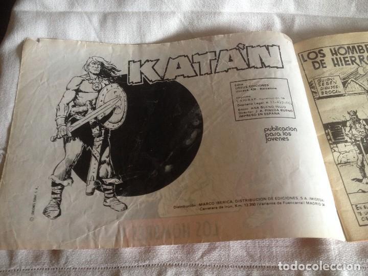 Cómics: KATÁN. 1 : Los hombres de hierro.80. 60 pts - Foto 2 - 115603495