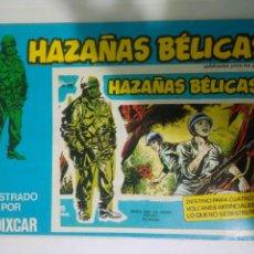 Cómics: HAZAÑAS BELICAS ORIGINALNUMERO 165,VOL 65 URSUS. Lote 115610498