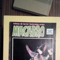Cómics: MACABRO. Lote 163633186