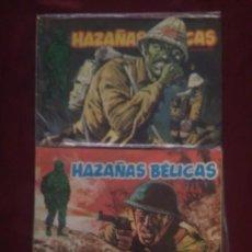 Cómics: HAZAÑAS BÉLICAS NÚMEROS 75, 78 Y 87 - URSUS EDICIONES 1973. Lote 116168679
