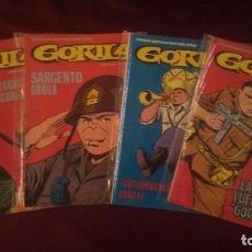 Cómics: GORILA NÚMEROS 1, 2, 4 Y 5 - URSUS EDICIONES 1980. Lote 116171771
