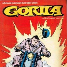 Cómics: GORILA .RELATOS DE AVENTURAS ILUSTRADAS URSUS.Nº7 DOYER, ALAN SIN LEER. Lote 116383755