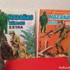 Cómics: COMIC LOTE 2 TEBEO HAZAÑAS BELICAS URSUS EXTRA 1979 Nº 25,18. Lote 116447011