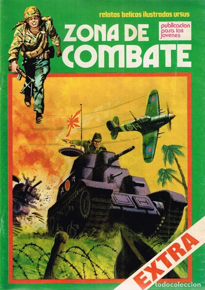 ZONA DE COMBATE EXTRA Nº42 RELATOS BÉLICOS ILUSTRADOS URSUS (Tebeos y Comics - Ursus)