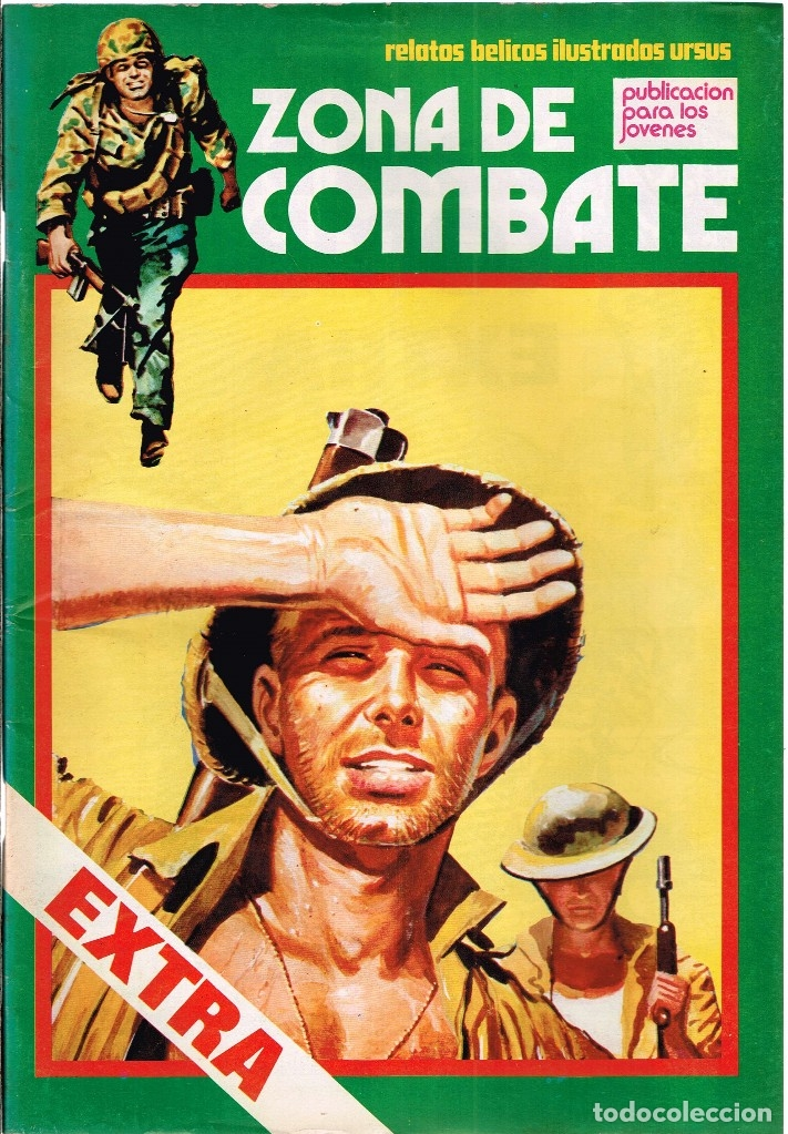 ZONA DE COMBATE EXTRA Nº30 RELATOS BÉLICOS ILUSTRADOS URSUS (Tebeos y Comics - Ursus)