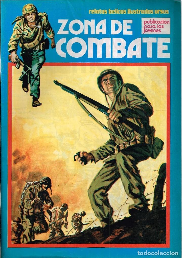 ZONA DE COMBATE Nº143 RELATOS BÉLICOS ILUSTRADOS URSUS (Tebeos y Comics - Ursus)