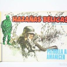 Fumetti: ANTIGUO CÓMIC - HAZAÑAS BÉLICAS, Nº 50 / PATRULLA AL AMANECER - EDIT URSUS - AÑO 1977. Lote 118804819