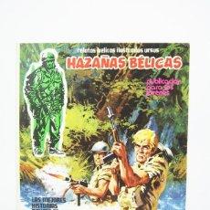 Cómics: ANTIGUO CÓMIC - HAZAÑAS BÉLICAS / EXTRA DE VERANO, LA GRAN ESPERANZA - EDIT. URSUS, 1974. Lote 118806387