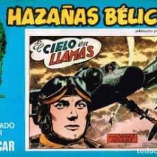 Cómics: HAZAÑAS BÉLICAS, EDITORIAL URSUS. Nº121 . 1973 VOL.XXI BOIXCAR. Lote 119132363