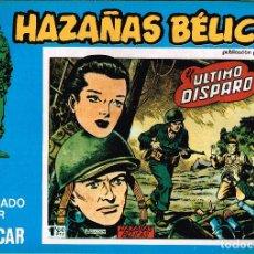 Cómics: HAZAÑAS BÉLICAS, EDITORIAL URSUS. Nº138 . 1973 VOL.XXXVIII BOIXCAR. Lote 119212711